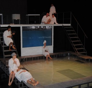 a play critique of metamorphoses by mary zimmerman Metamorphoses old fitz theatre, february 10  occupies the stage and is  central to mary zimmerman's lavishly theatrical metamorphoses,.