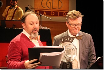 Chris Ralph & David Gerow in Winnie-the-Pooh-The Radio Show.